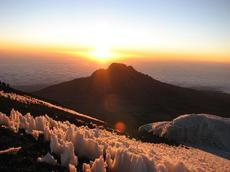 Kilimanjaro climbing trip Machame route