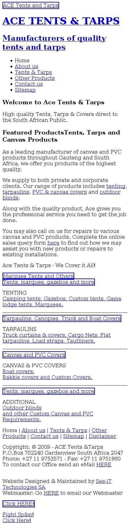 u2022 Ace Tents And Tarps u2022 tentsandtarps.co.za  sc 1 st  Tuugo & Ace Tents And Tarps u2022 tentsandtarps.co.za