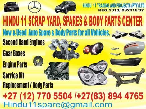• New/used spares Pretoria • Pretoria • Gauteng •