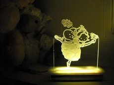 Miss Swan the Ballerina Night Light