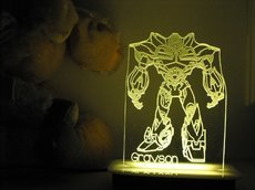 Bumble Bee Transformers NIght Light