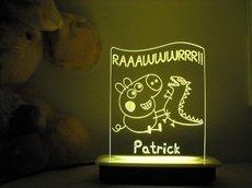 Peppa Pig with Dino Night Light