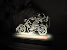 Ted the Biker Teddy Bear Night Light