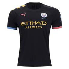 19-20 Manchester City Away Football Shirt