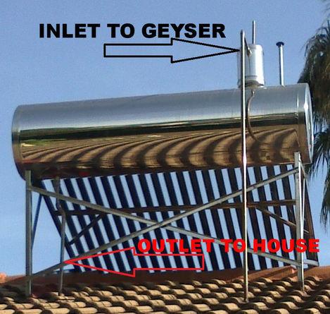 DIY Solar Geysers • Brits • Noordwes •