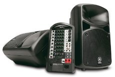 Yamaha STAGEPAS 600i 600-I PA System With Microphone