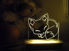 Sleeping Fox Night Light