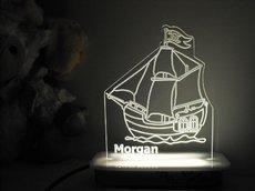 Pirate Ship Night Light
