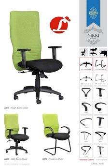 Touch Mesh Back Office Chair