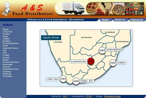 P U Independant Food Distributors • Cape Town • Wes-Kaap •
