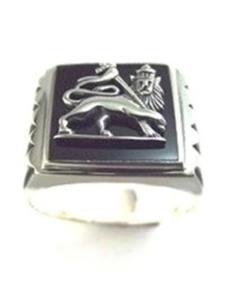 Sterling Silver Lion of Judah Ring