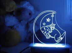 Ellie Sleeping Elephant Night Light