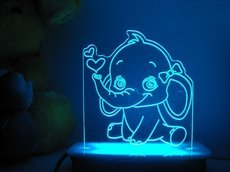 Baby Ella the Elephant Night Light