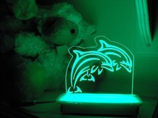 The Dolphins Night Light