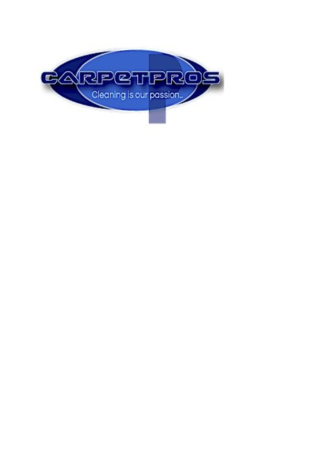 Carpetpros Professional carpet & upholstery cleaners