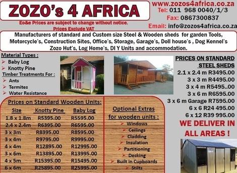 Zozo S 4 Africa Benoni Gauteng Zozos4africa Co Za