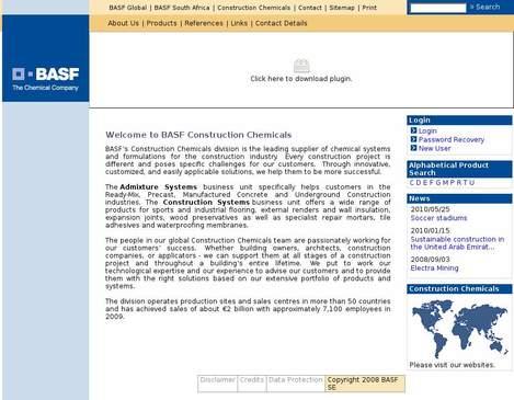 Basf Construction Chemicals South Africa • basf-cc co za