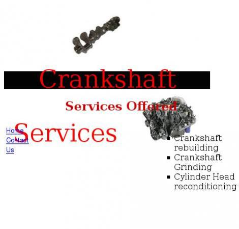 Crankshaft Reconditioning • Johannesburg • Gauteng •