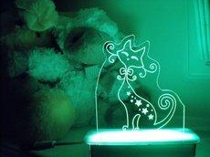 Sir PurFect the Cat Night Light