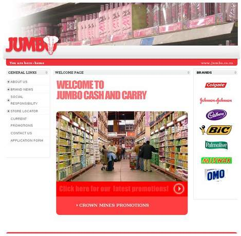 Jumbo Cash & Carry • Crown Mines • Gauteng • jumbo co za