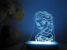 Elsa of Frozen Night Light