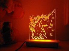 Star Unicorn Night Light