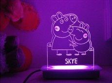 Peppa Pig Hugs Night Light