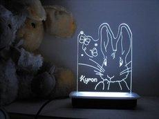 Butterfly Rabbit Night Light