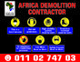 Demolition Services South Africa