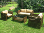 Rattan Lounge Sets Garden Cane Furniture Sofa Set